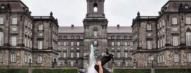 Christiansborg is one of Copenhagen.