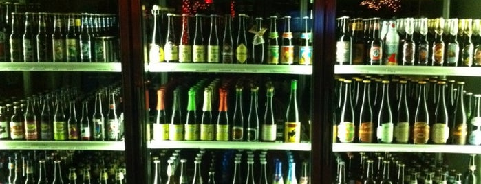La Cave du Vin is one of Draft Mag's Top 100 Beer Bars (2012).