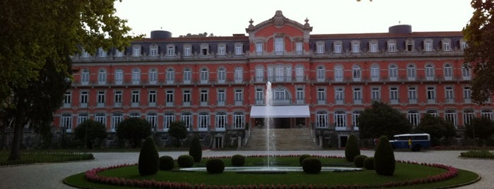 Vidago Palace Hotel is one of Hotels in Portugal.