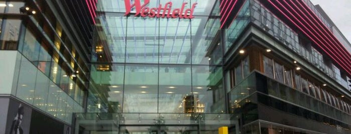 Westfield Stratford City is one of Hand Drawn Map of London.