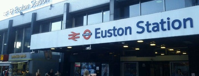 London Euston Railway Station (EUS) is one of Railway Stations in UK.