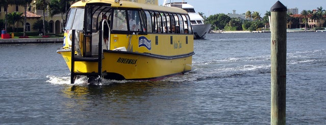 Water Taxi - Stop #1 is one of Local Favorites in Fort Lauderdale #VisitUS.