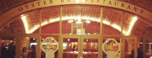 Grand Central Oyster Bar is one of Architecture - Great architectural experiences NYC.