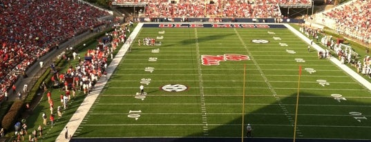 Vaught-Hemingway Stadium is one of SEC Football.