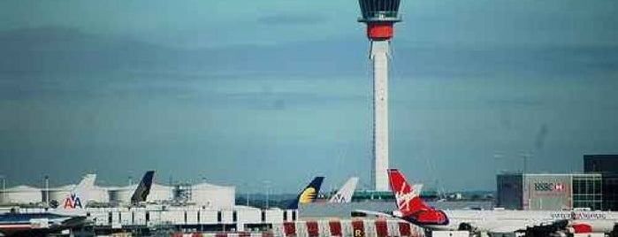 Flughafen London-Heathrow (LHR) is one of World Airports.