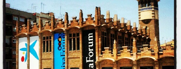 CaixaForum Barcelona is one of Lista Cris B..