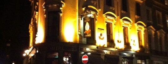 The Mitre is one of London Pint.