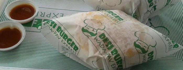 desi burger is one of mu.