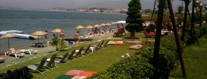 Şat Beach Club is one of Best places in Fethiye.