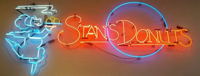 Stan's Donuts is one of Gotta Try Donuts!.