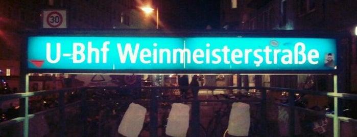 U Weinmeisterstraße is one of U-Bahn Berlin.