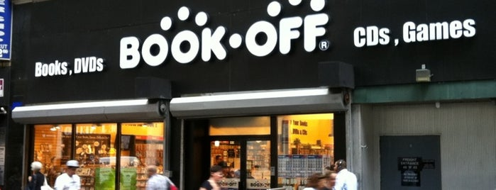 Book Off is one of Libraries and Bookshops.