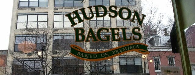 Hudson Bagels is one of Breakfast: PATH to Soho.