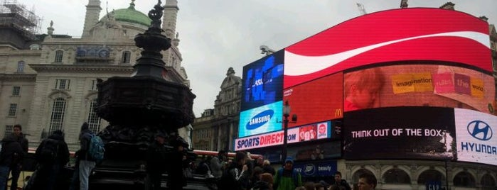 Piccadilly Circus is one of Around The World: London.