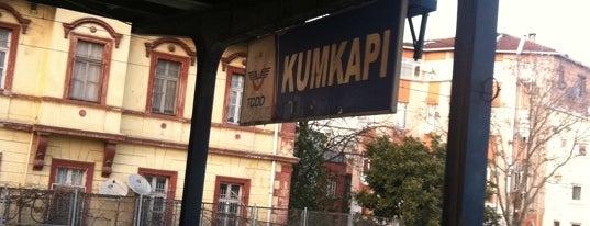 Kumkapı Tren İstasyonu is one of Sirkeci - Halkalı Banliyö Tren Hattı.