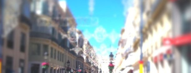 Calle Marqués de Larios is one of Málaga #4sqCities.