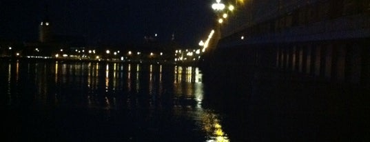 Stone bridge is one of Unveil Riga : Atklāj Rīgu : Открой Ригу.