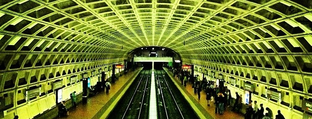 Gallery Place - Chinatown Metro Station is one of DC going out guide..