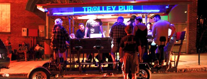 Trolley Pub is one of Raleigh Bars Worth Visiting.