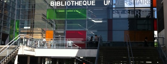 Bibliothèque Universitaire Saint-Serge is one of Angers.