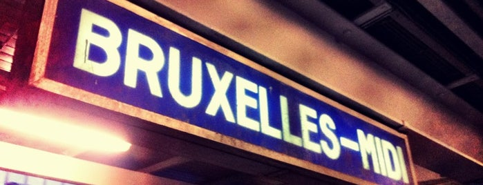 Brussels-South Railway Station (ZYR) is one of Bruxelles.