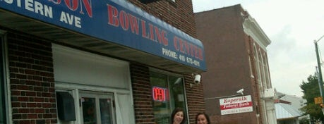 "Patterson Bowling Center is one of Nostalgic Baltimore - ""Duck Pin Bowling""."