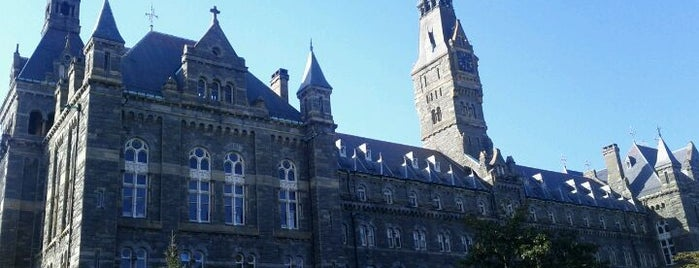 Healy Hall, Georgetown University is one of Georgetown Campus Tour.