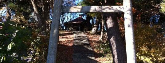 金刀毘羅神社 is one of Shinto shrine in Morioka.