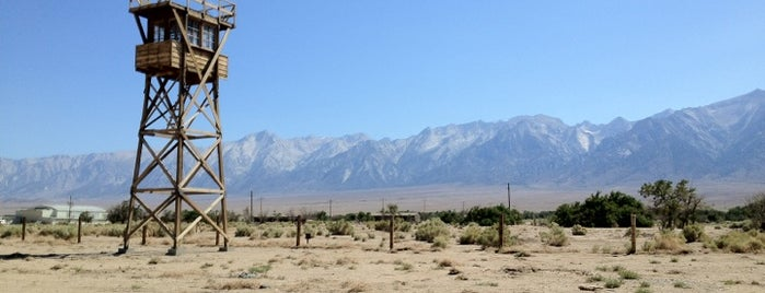 Manzanar National Historic Site is one of National Parks.