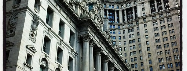 New York County Surrogate's Court is one of Historic NYC Landmarks.