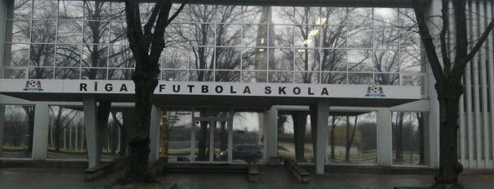 Rīgas Futbola Skola is one of Natural Coffee wending machines.