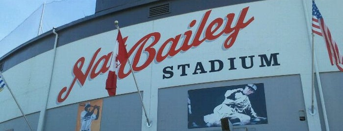 Scotiabank Field at Nat Bailey Stadium is one of Corbet's Secret Vancouver.