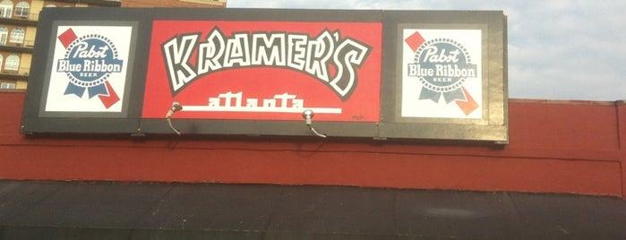Kramer's is one of Top 10 dinner spots in Atlanta, GA.