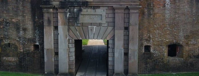 Fort Morgan State Historic Site is one of Paranormal Traveler.