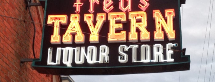 Fred's Tavern & Liquor Store is one of Jersey Shore Vaca Musts.