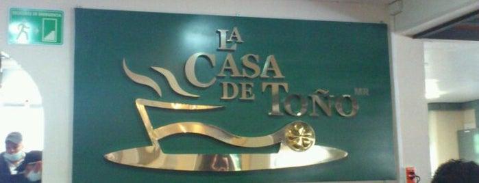 La Casa de Toño is one of Mexico City's To-Do's.