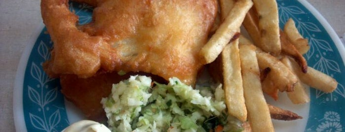 Scotty Simpsons Fish & Chips is one of Detroit Lunch Bus.