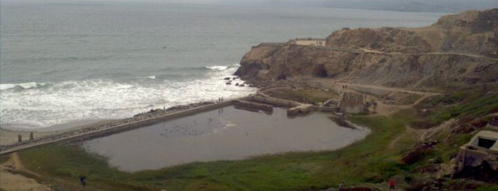 Sutro Baths is one of Must-visit Parks in San Francisco.