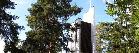 Lielahden kirkko is one of Churches of Tampere.