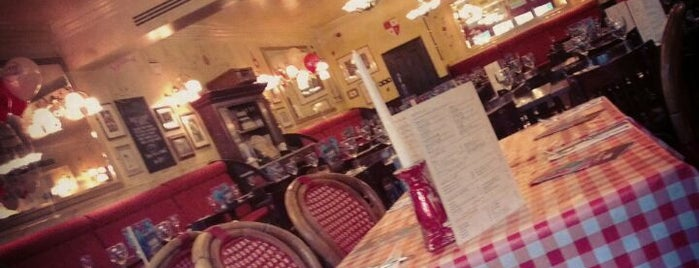 Café Rouge is one of Places to eat in Manchester.