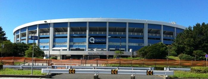 ZOZO Marine Stadium is one of Japan Triple Play.