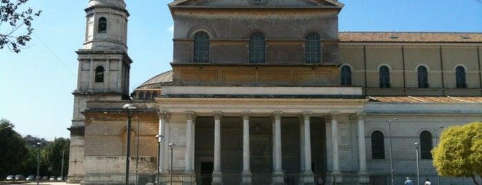 Basilica di San Paolo fuori le Mura is one of La Dolce Vita - Roma #4sqcities.