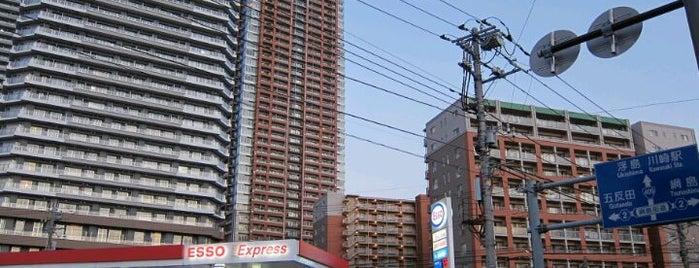市ノ坪交差点 is one of 武蔵小杉再開発地区.