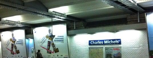 Métro Charles Michels [10] is one of Métro de Paris.