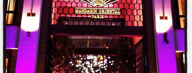 Mandarin Oriental Paris is one of Paris.