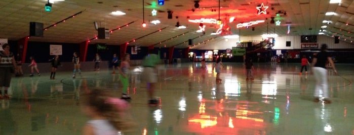 Playland Skate Center is one of Samantha's Favorite Places.