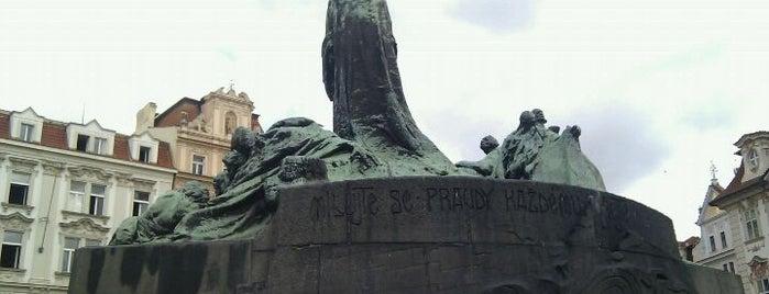 Pomník mistra Jana Husa is one of Historická Praha.