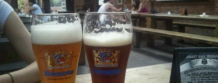 Radegast Hall & Biergarten is one of European Beers in NYC.