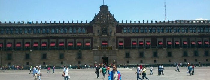 Palacio Nacional is one of PTS - Around México City.