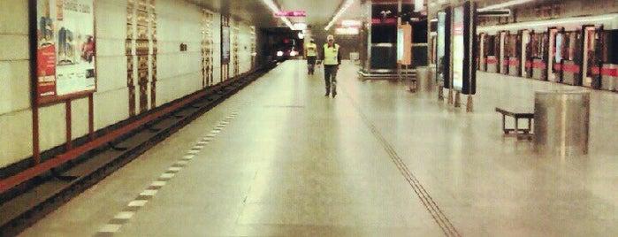 Metro =C= Háje is one of Metro C.
